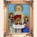 """Набор для вышивания бисером ВЫШИВАЕМ БИСЕРОМ """"Вера, Надежда, Любовь и мать их Софья"""""""
