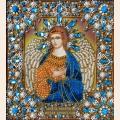 """Набор для вышивания хрустальными бусинами Хрустальные Грани """"Ангел Хранитель"""" (золото)"""