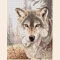 """Схема для вышивания бисером А.ТОКАРЕВА """"Волчица"""""""