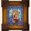 """Набор для вышивания бисером ВЫШИВАЕМ БИСЕРОМ """"Страстная икона Божией Матери"""""""