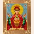 """Набор для вышивания бисером ВЕРТОГРАДЪ Пресвятая Богородица """"Неупиваемая чаша"""""""