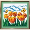 """Набор для вышивания бисером """"Желтые тюльпаны"""""""