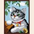 "Раскраска по номерам COLOR-KIT ""Котенок"""
