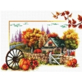 """Набор для вышивания нитками Classic Design """"Осень"""""""