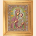 """Набор для вышивания бисером GALLA COLLECTION  Икона Божией Матери """"ИВЕРСКАЯ"""""""
