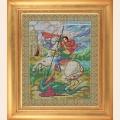 """Набор для вышивания бисером GALLA COLLECTION  Икона """"Святой Георгий Победоносец"""""""