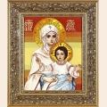 """Набор для вышивания нитками Алисена """"Богородица"""""""