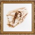"""Набор для вышивания нитками Алисена """"Ангел вдохновение"""""""