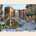 """Раскраска по номерам COLOR-KIT """"Рассветная Венеция"""""""