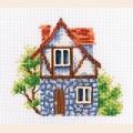 """Набор для вышивания нитками РТО """"Мой милый дом"""""""