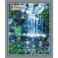 Алмазная вышивка камнями АЛМАЗНАЯ ЖИВОПИСЬ «Искрящийся водопад»