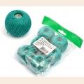 "Набор ниток Ирис для вязания ""Аркадия"" (100% хлопок) 6х25г/150м, С-Пб"