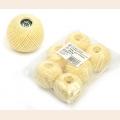 """Набор ниток Ирис для вязания """"Банановый смузи"""" (100% хлопок) 6х25г/150м, С-Пб"""