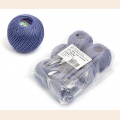 "Набор ниток Ирис для вязания ""Джинс"" (100% хлопок) 6х25г/150м, С-Пб"