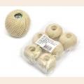 """Набор ниток Ирис для вязания """"Песчаная отмель"""" (100% хлопок) 6х25г/150м, С-Пб"""