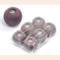 "Набор ниток Ирис для вязания ""Сушеная лаванда"" (100% хлопок) 6х25г/150м, С-Пб"