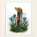 """Набор для вышивания ювелирным бисером КРАСА И ТВОРЧЕСТВО """"Цветы 8"""""""