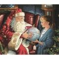 """Набор для вышивания нитками Classic Design """"Однажды в Рождество"""""""
