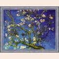"""Набор для вышивания нитками РИОЛИС """"Цветущий миндаль"""" по мотивам картины В. Ван Гога"""""""
