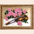 """Набор для вышивания бисером BUTTERFLY """"Сюита для скрипки"""""""