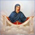 Алмазная вышивка квадратными камнями ГРАННИ «Покров Пресвятой Богородицы»