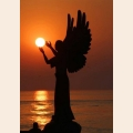 Алмазная вышивка квадратными камнями ГРАННИ «Вслед за уходящим солнцем»