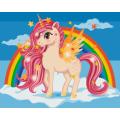 """Живопись (картины) по номерам Hobruk """"Маленький пони"""""""