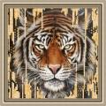 """Рисунок на ткани RK Larkes """"Тигр"""""""