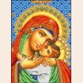 """Набор для вышивания бисером ВЫШИВАЕМ БИСЕРОМ """"Касперовская икона Божией Матери"""""""