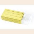 Контейнер для мелочей пластмассовый (11х20х6см) цв. желтый