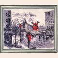 """Набор для вышивания бисером BUTTERFLY """"Мулен Руж в Париже (по картине О. Дарчук)"""""""
