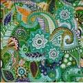"""Рисунок-подушка для вышивания бисером MAGIK CRAFT """"Весна-Фрактал"""""""