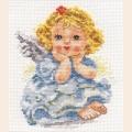"""Набор для вышивания нитками Алиса """"Ангелок Мечты"""""""