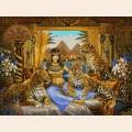 """Схема для вышивания бисером MAGIK CRAFT """"Царица Египта"""""""
