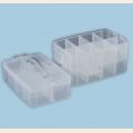 Коробка для шв. принадл. пластик ОМ-1413 прозрачная