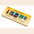 Kleiber Набор швейных ниток № 60, 100% полиэстер, цвет в ассортименте, 20шт по 500м в упаковке