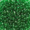 """Бисер """"Zlatka"""" GR 11/0 цв.№0007B т.зеленый 10 г"""