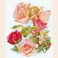 """Набор для вышивания нитками АЛИСА """"Фея розового сада"""""""