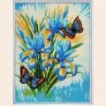 """Набор для вышивания бисером BUTTERFLY """"Небесные цветы"""""""