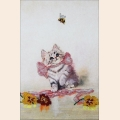 """Набор для вышивания бисером GLURIYA """"Котенок"""""""