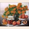 """Набор для вышивания бисером GLURIYA """"Персиковое утро"""""""