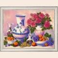 """Набор для вышивания бисером BUTTERFLY """"Розы и виноград"""""""