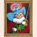 """Набор для вышивания бисером BUTTERFLY """"Кот в сапогах"""""""