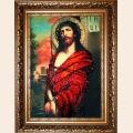 """Набор для вышивания бисером ИЗЯЩНОЕ РУКОДЕЛИЕ """"Иисус в терновом венце"""" (Икона)"""