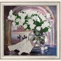 """Набор для вышивания бисером BUTTERFLY """"Розы и голуби"""""""