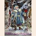 "Набор для вышивания бисером BUTTERFLY ""Дед Мороз"""