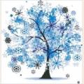 Алмазная вышивка камнями «Новогоднее дерево»