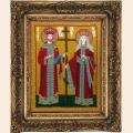 """Набор для вышивания бисером BUTTERFLY """"Св. Константин и Елена"""""""