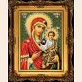 """Набор для вышивания бисером ВЫШИВАЕМ БИСЕРОМ """"Смоленская Икона Божией Матери"""""""