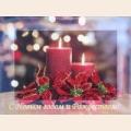 """Набор для вышивания бисером BUTTERFLY """"Новогодние свечи"""""""